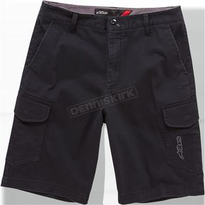 Alpinestars Black Radar Shorts - 1016230071028