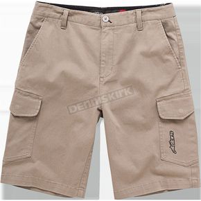 Alpinestars Khaki Radar Shorts - 1016230078928