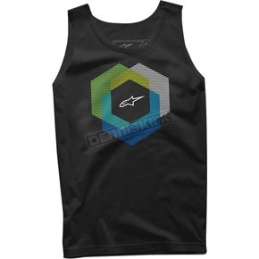 Alpinestars Black Tesseract Tank - 10167202610XL