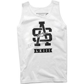 Alpinestars White Grip Tank - 101672027020L