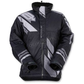 Arctiva Black/Gray Comp Insulated Jacket - 3120-1577