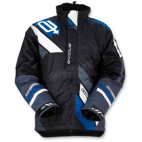 Arctiva Black/Blue Comp Insulated Jacket - 3120-1582