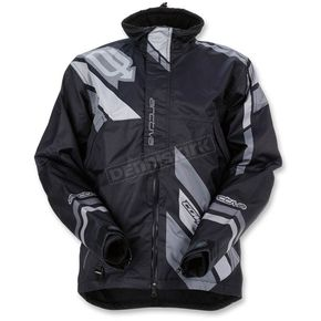 Arctiva Black/Gray Comp RR Shell Jacket - 3120-1604