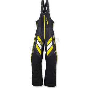 Arctiva Black/Hi-Vis Yellow Mechanized Insulated Bibs - 3130-1070