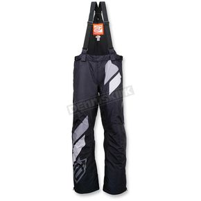 Arctiva Black/Gray Comp Insulated Bib - 3130-1077
