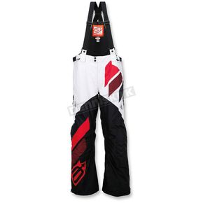 Arctiva Black/Red Comp Insulated Bib - 3130-1104