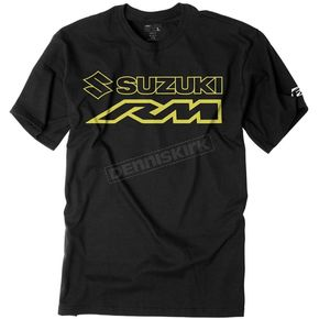Factory Effex Youth Black Suzuki Rm T-Shirt - 19-83414
