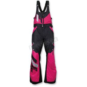Arctiva Women's Black/Pink Eclipse Insulated Bib - 3131-0457