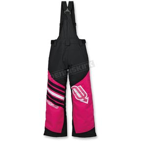 Arctiva Youth Pink/White Comp Insulated Bib - 3132-0215