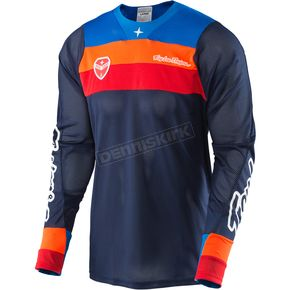 Troy Lee Designs Navy SE Air Corsa Jersey - 302133304