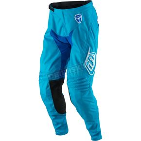 Troy Lee Designs Youth Cyan/Blue SE Starburst Pants - 209013333