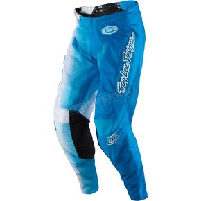 Troy Lee Designs White/Blue GP Air 50/50 Pants - 204129135