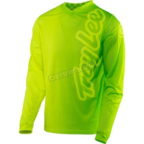 Troy Lee Designs Fluorescent Yellow/Green GP Air 50/50 Jersey - 304129586