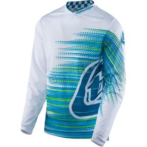 Troy Lee Designs White GP Air Electro Jersey - 304128106