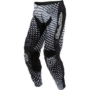 Troy Lee Designs Black/White GP Tremor Pants - 207131216