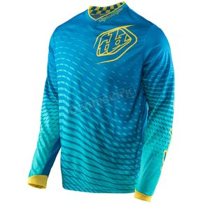 Troy Lee Designs Blue/Yellow GP Tremor Jersey - 307131353