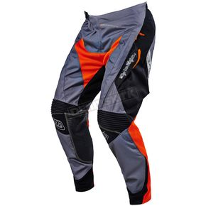 Troy Lee Designs Orange/Gray Adventure Radius Pants - 212003903