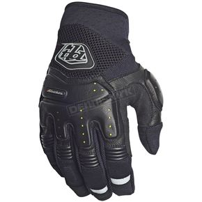Troy Lee Designs Black Adventure Radius Gloves - 412003204