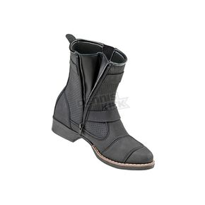Joe Rocket Women's Black Moto Adira Boots - 1509-009