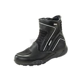Joe Rocket Black Meteor FX Mid Boots - 1519-0010