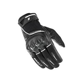 Joe Rocket Black/White Super Moto Gloves - 1632-1002