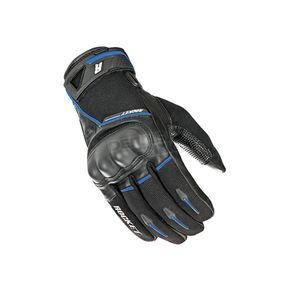 Joe Rocket Black/Blue Super Moto Gloves - 1632-1204