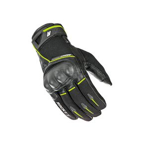 Joe Rocket Black/Hi-Viz Super Moto Gloves - 1632-1405