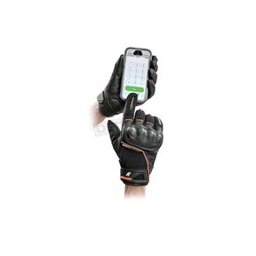 Joe Rocket Black/Orange Super Moto Gloves - 1632-1502
