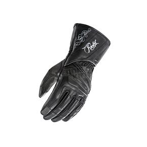 Joe Rocket Women's Black Pro Street Gloves - 1638-1001