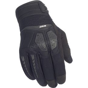 Cortech Black DXR Gloves - 8316-0105-07