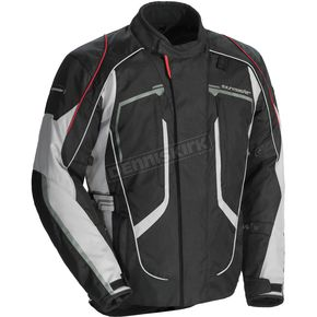 Tour Master Women's Black/Gray Advanced Jacket - 8736-0107-76