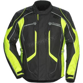 Tour Master Black/Hi-Vis Advanced Jacket - 8736-0113-08