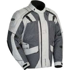 Tour Master Women's Light Gray/Gunmetal Transition 4 Jacket  - 8777-0407-77