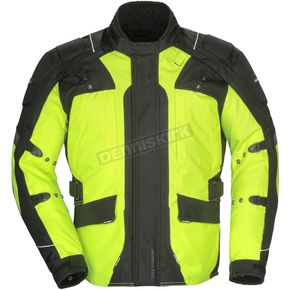 Tour Master Women's Hi-Vis/Black Transition 4 Jacket - 8777-0413-75