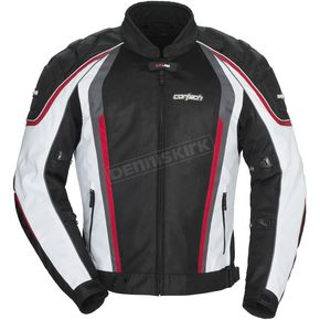 Cortech White/Black GX-Sport Air 4.0 Jacket - 8985-0409-06