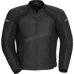 Cortech Flat Black Latigo 2.0 Leather Jacket - 8992-0235-04