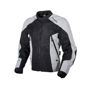 Scorpion Black/Silver Ascendant Jacket - 14002-7