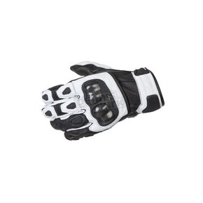 Scorpion White SGS MK II Gloves - G28-048