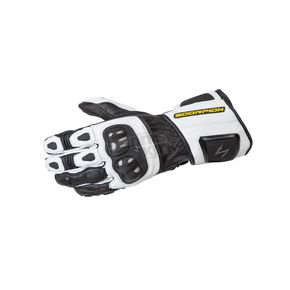 Scorpion White SG3 MK II Gloves - G29-044