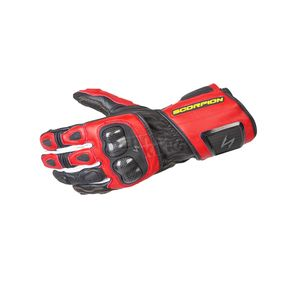 Scorpion Red SG3 MK II Gloves - G29-055