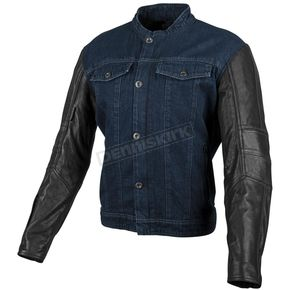 Speed and Strength Band of Brothers Leather/Denim Jacket - 879686