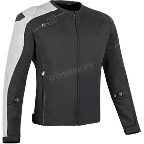 Speed and Strength Black/White Light Speed Textile Jacket - 879689