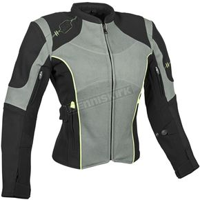 Speed and Strength Women's Gray/Black Comin in Hot Textile Jacket - 879708