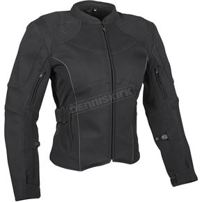 Speed and Strength Women's Black Comin in Hot Textile Jacket - 879721