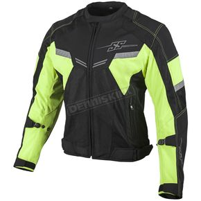 Speed and Strength Hi Viz/Black Power and The Glory Mesh Jacket - 879731