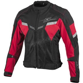 Speed and Strength Red/Black Power and The Glory Mesh Jacket - 879733