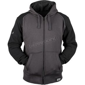 Speed and Strength Black/Charcoal Cruise Missile Armored Hoody - 879753