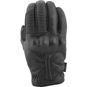 Speed and Strength Black Quick and The Dead Leather Gloves - 879969