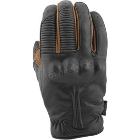 Speed and Strength Black/Tobacco Quick and The Dead Leather Gloves - 879973