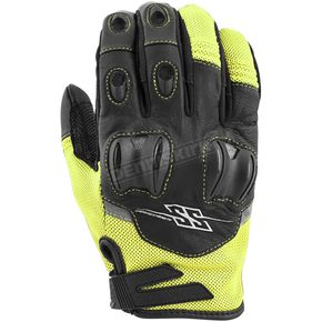 Speed and Strength Hi-Viz/Black Power and The Glory Mesh Gloves - 872246